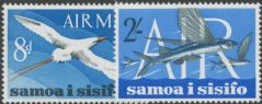 Samoa SG263-4 Air Mail set of 2